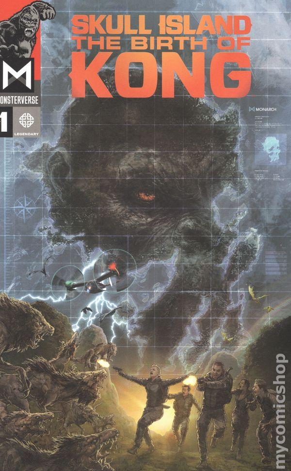 Kong Skull Island Official Comic Series 2017 Comic Books