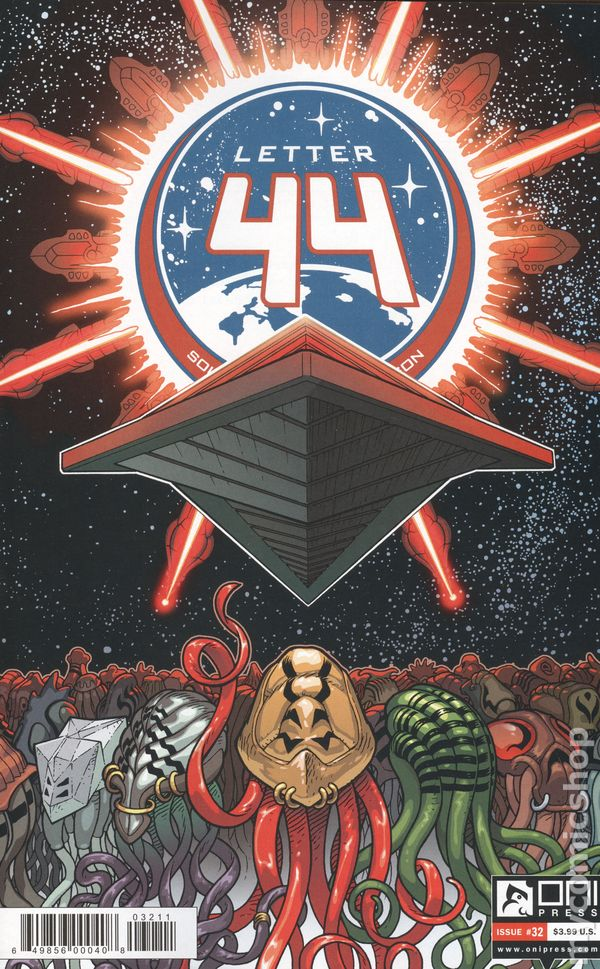 Letter 44 2013 Oni Press 32 Comic