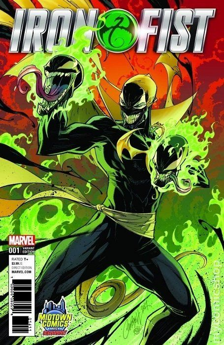 Iron Fist 2017 5th Series 1MIDTOWN