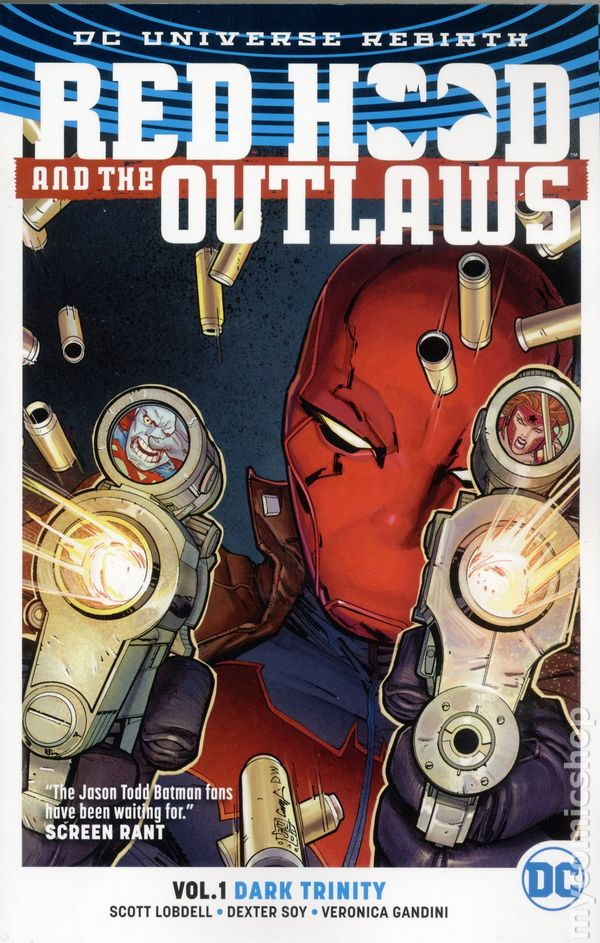 red hood and the outlaws tpb 2017 dc universe rebirth comic books