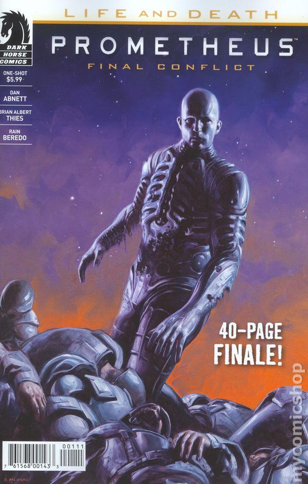 prometheus life and death 2017 dark horse final conflict comic books rh mycomicshop com