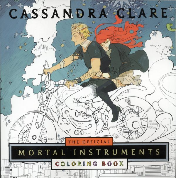 Official Mortal Instruments Coloring Book SC 2017 MKM Books 1 1ST