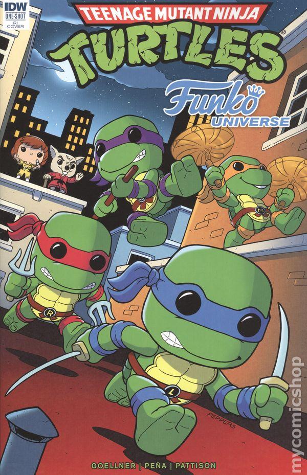 Teenage Mutant Ninja Turtles Funko Universe 2017 IDW 1RI