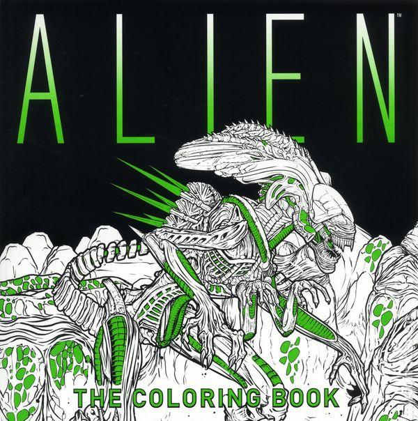 Alien The Coloring Book SC 2017 Titan Books 1 1ST