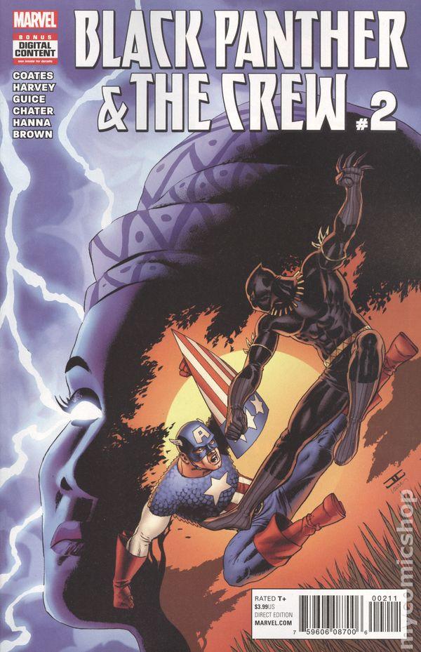 huge discount 9aebf 23921 Black Panther and the Crew (2017) comic books