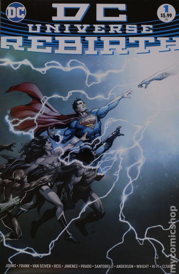 Dc Universe Rebirth 2016 Comic Books