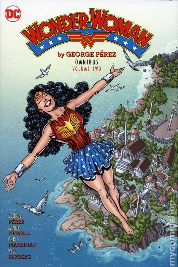 Wonder Woman Omnibus HC By George Perez #2-1ST