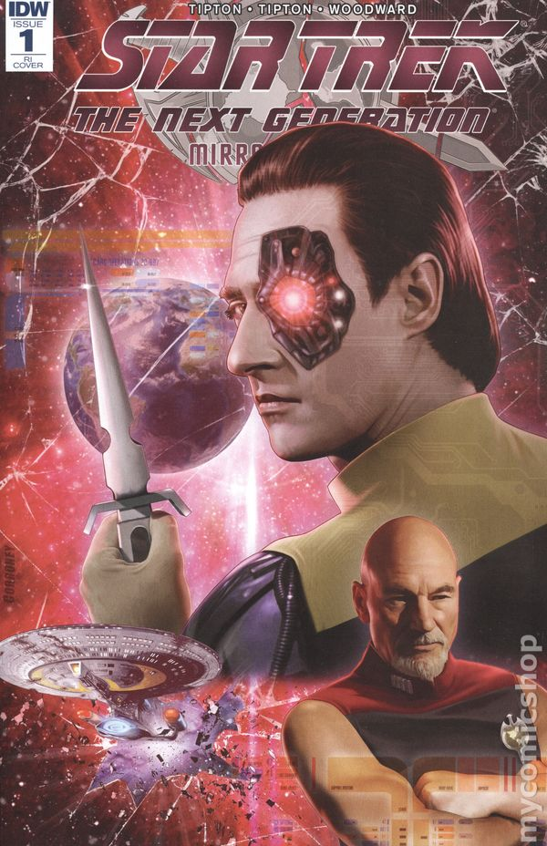 Star Trek: Mirror Mirror comic books issue 1