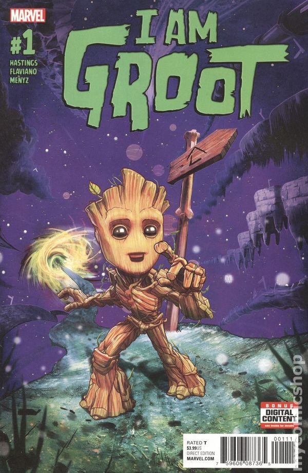 Groot #1 Marvel Comics vf//nm CB2638