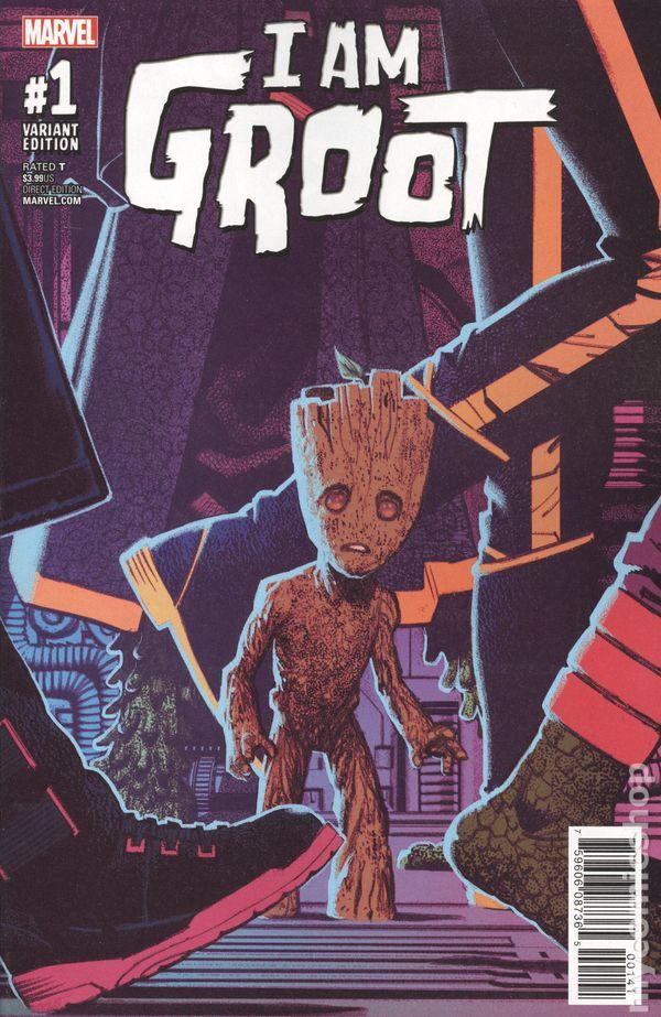 Marvel-2017 I Am Groot #3