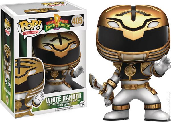 power rangers vinyl figure 2016 funko pop television comic books