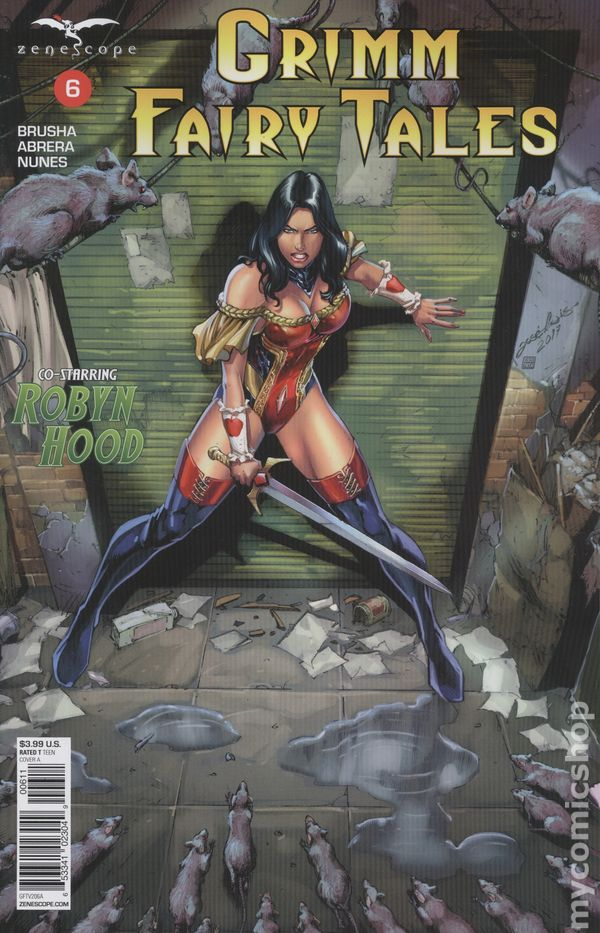 Tarot #1 Cover B NM Zenescope Comic Grimm Fairy Tales Robyn Hood Vault 35