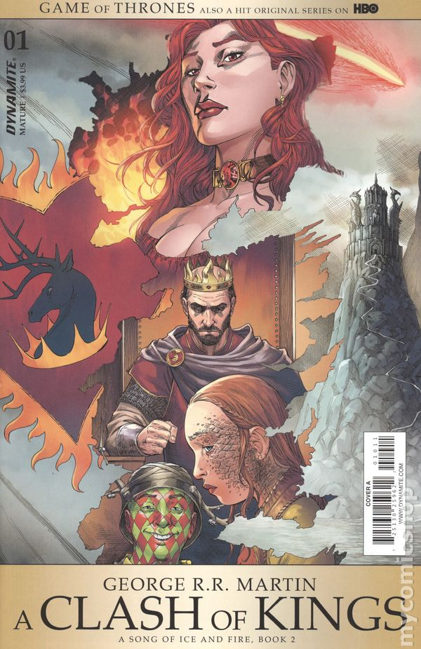 Game Of Thrones A Clash of Kings #7 Cover A VF//NM 2017 Dynamite Vault 35