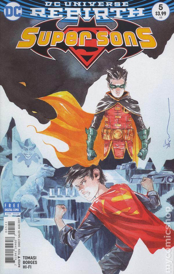 SUPER SONS #11 /& #11 VARIANT SET OF 2 COMICS SONS OF TOMORROW SUPERMAN