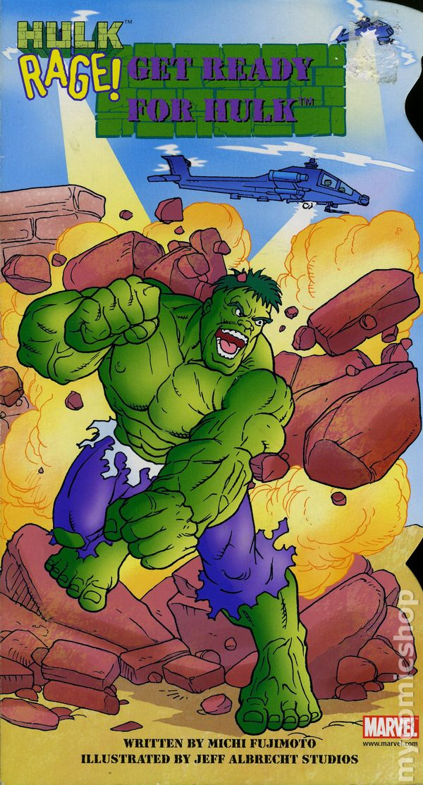 Hulk Rage Get Ready For HC 2002 Paradise Press Board Book