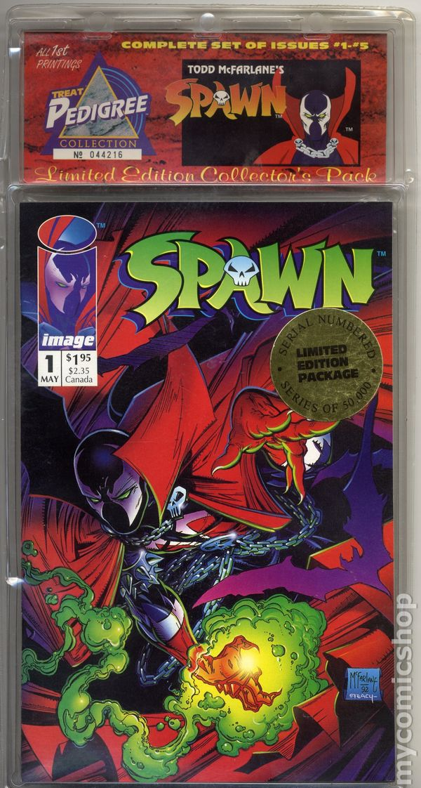 Treat Pedigree Collection: Spawn (1993 Image) Limited