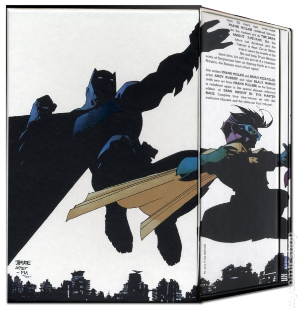 dark knight iii the master race #9 hardcover collectors edition