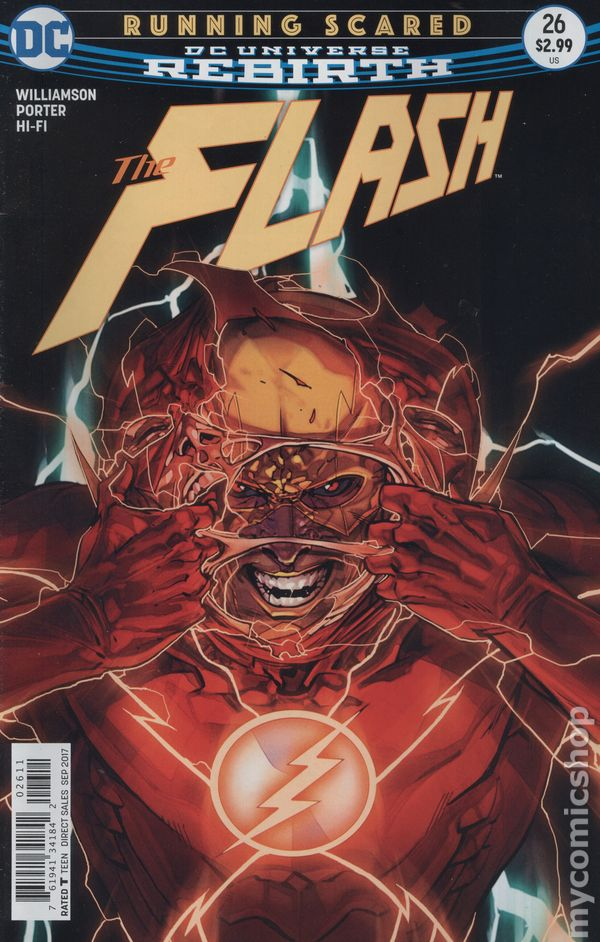 Flash #26 FN 1989 Stock Image