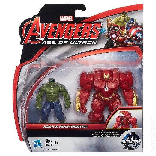 Marvel Avengers Hulk And Hulk Buster Figurine Set 2015 Hasbro