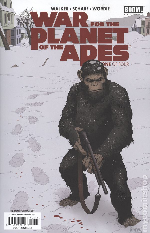 War For The Planet Of The Apes 2017 Boom Comic Books