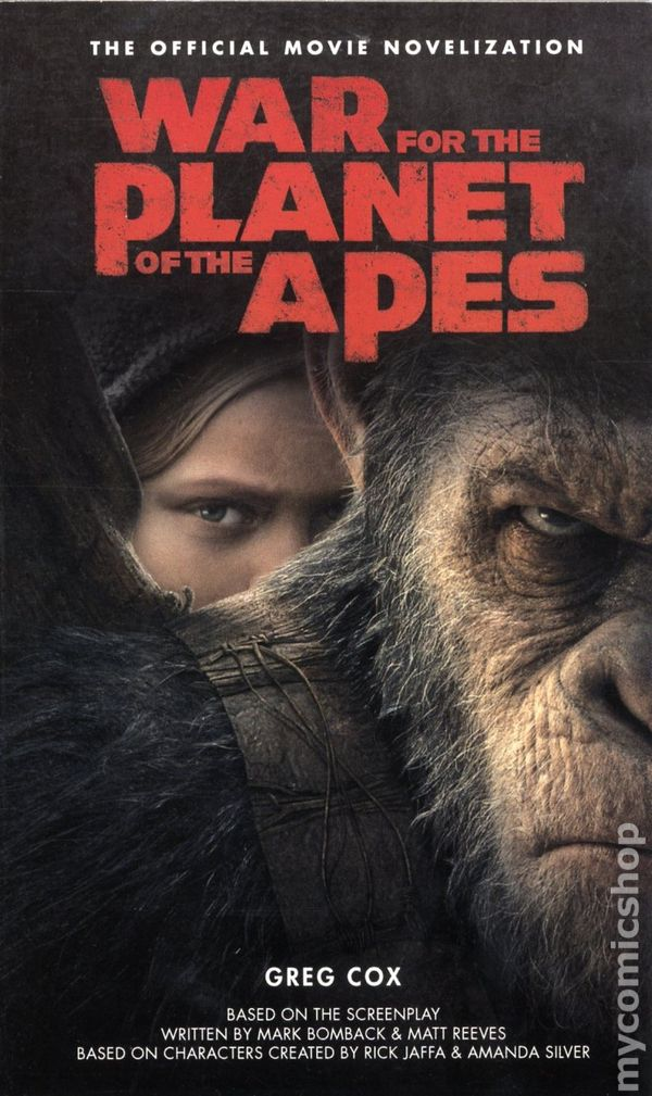 War For The Planet Of The Apes Comic Books Issue 1