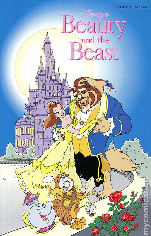 Beauty And The Beast 1991 Disney Comic Books