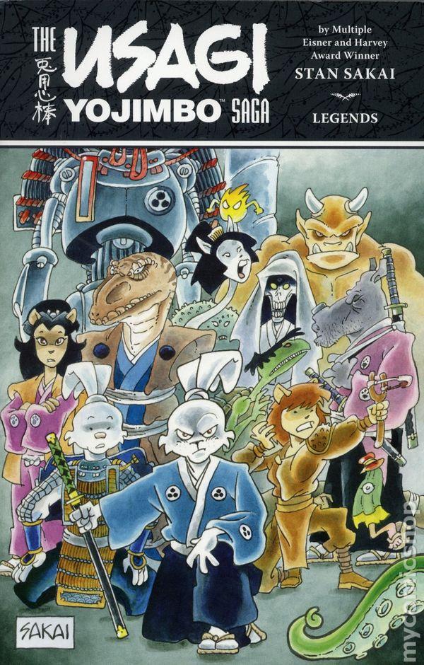 Usagi Yojimbo Saga Legends TPB #1-1ST