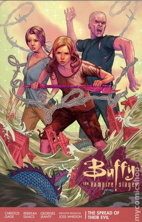 signed JEANTY 1:4 variant BUFFY the VAMPIRE SLAYER #1 season 8 joss whedon COMIC