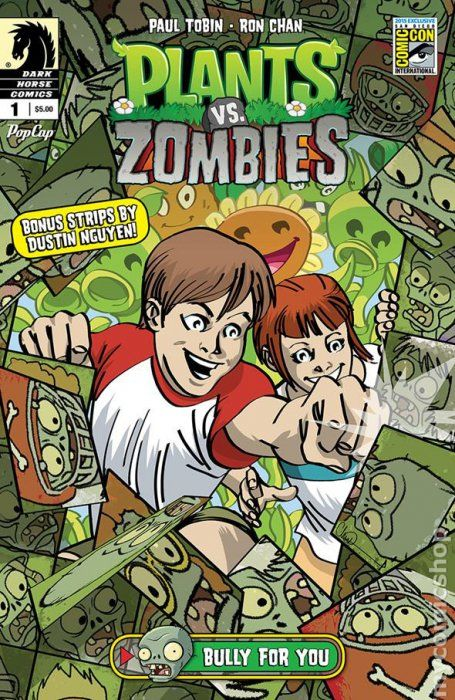 Plants Vs Zombies Comic Books Issue 1