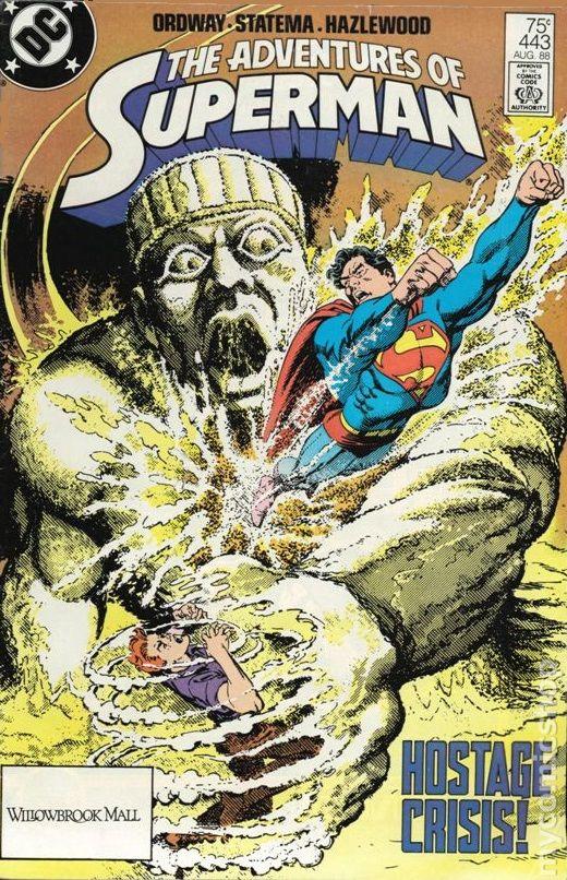 ADVENTURES OF SUPERMAN #436 DC COMICS NM 1988