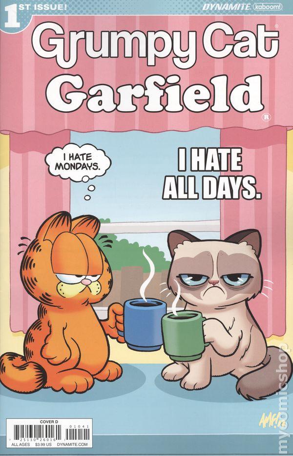 Grumpy Cat Garfield 2017 Dynamite Comic Books