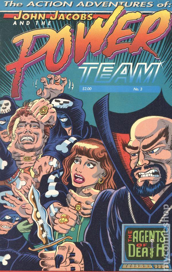 John Jacobs and the Power Team (1991) comic books 1990-1992
