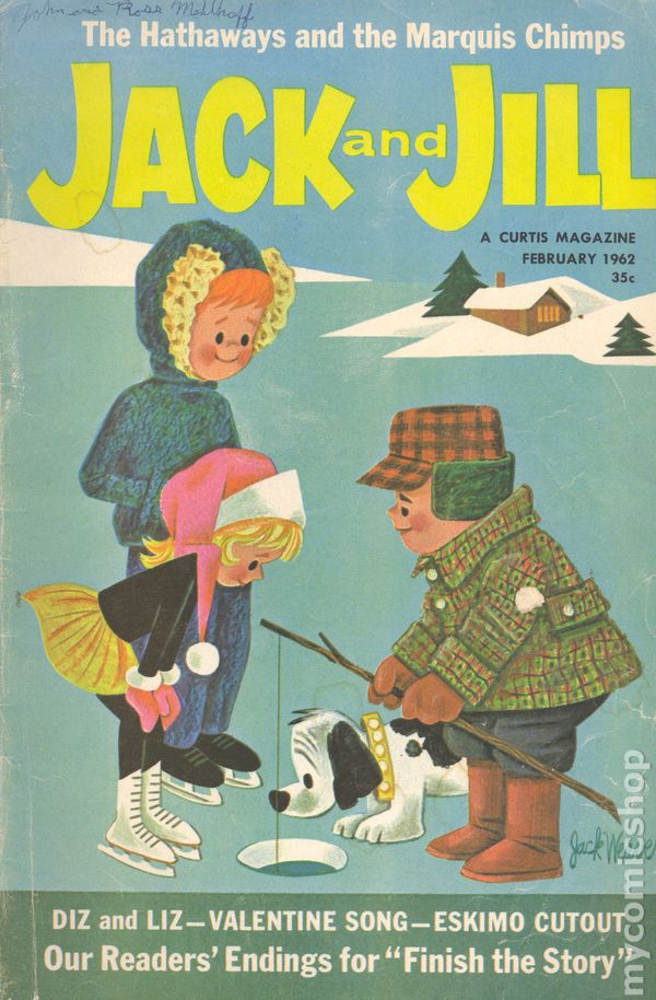 Jack And Jill 1938 Comic Books 1961 1963