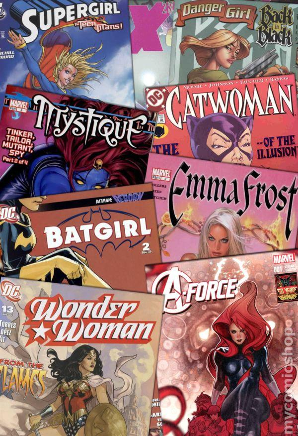 Heroines Value Pack Grab Bag 30 comics no duplicates