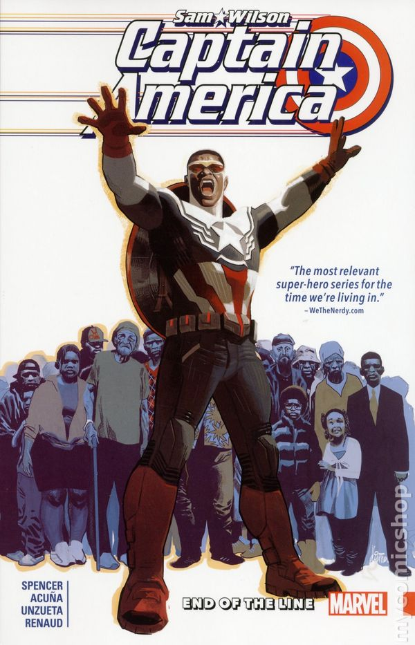CAPTAIN AMERICA Scourge Of The Underworld TPB $35 Cover NM