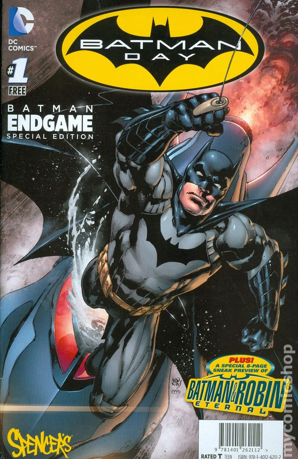 BATMAN DAY SPECIAL EDITION 1 2017 GIVEAWAY PROMO VARIANT NM
