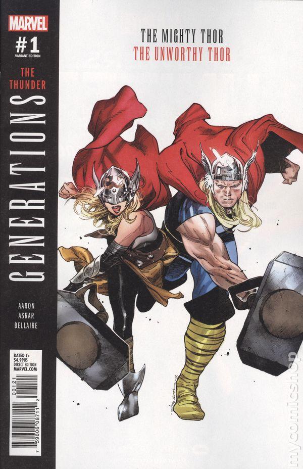 2017 Generations #1 The Marvels Variant NM Marvel Comics 1st Print
