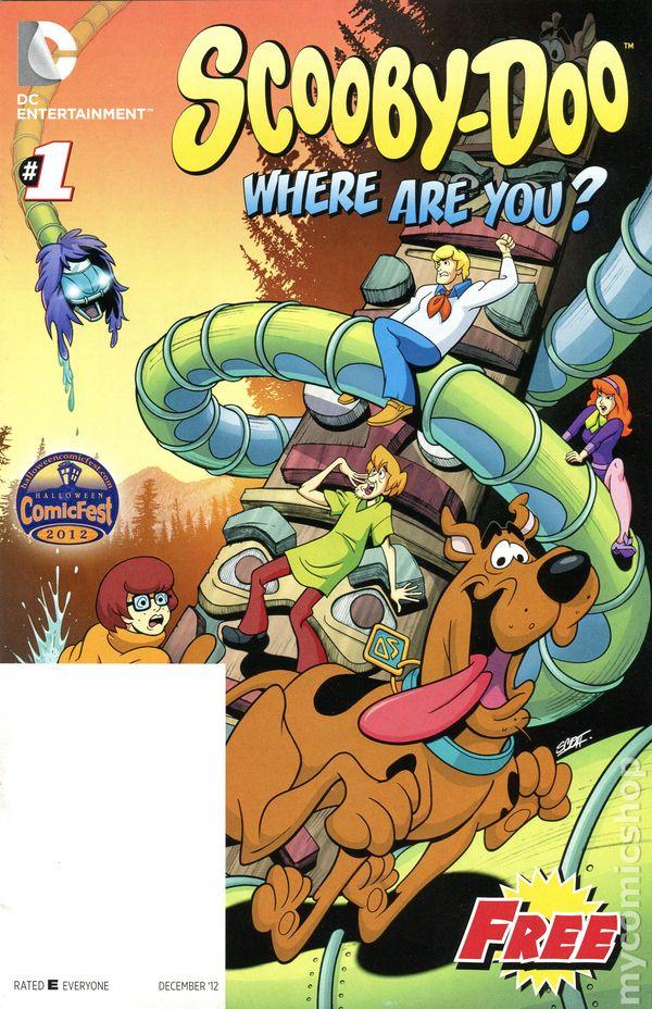 batman adventuresscooby doo 2012 halloween comicfest 1