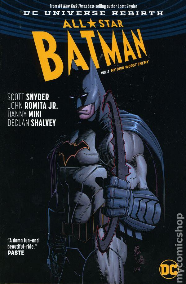 $4.99 RETAIL ALL STAR BATMAN # 1 VARIANT NEAR MINT DC UNIVERSE REBIRTH