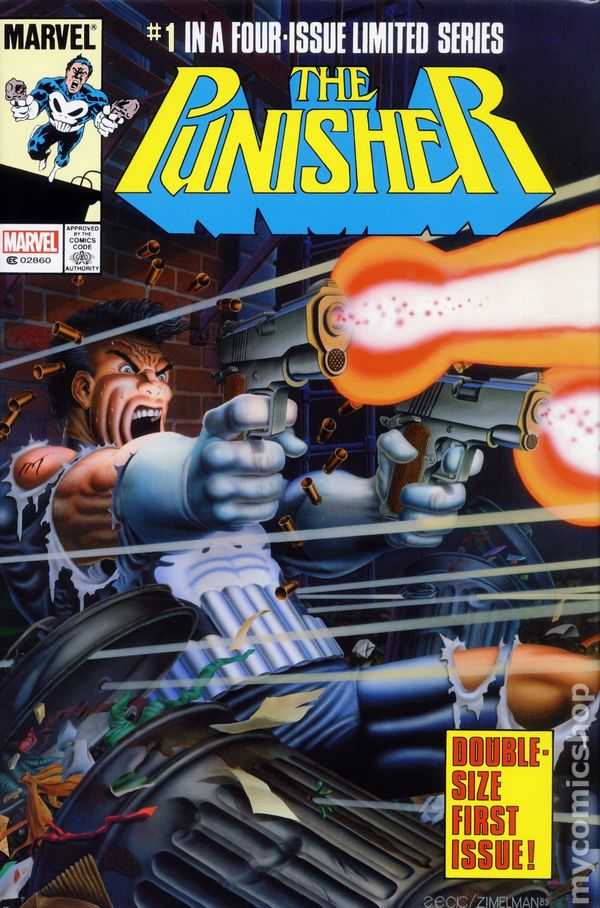 PUNISHER CIRCLE OF BLOOD MARVEL 2011 SOFTCVR GN TPB 1986 MINI SERIES #1-5 NEW