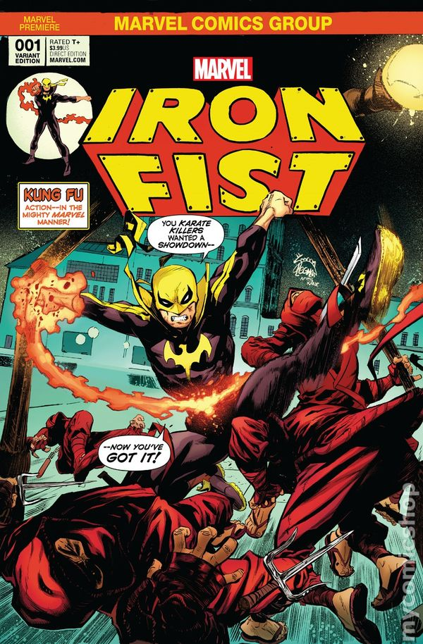 Iron Fist 2017 5th Series 1HALLCOLOR