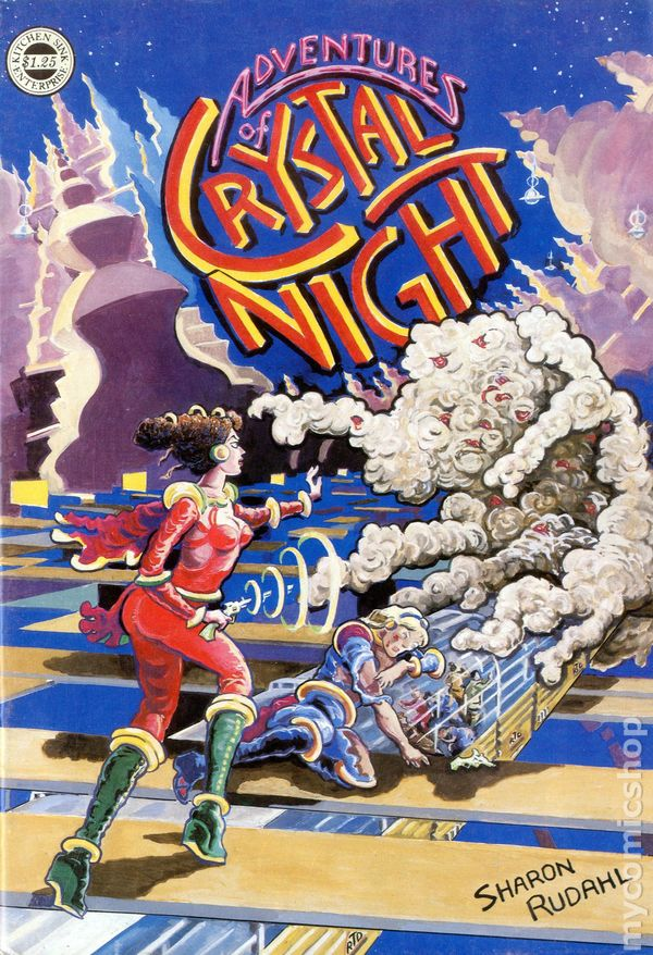 Adventures of Crystal Night (1980 Kitchen Sink Press) comic books ...