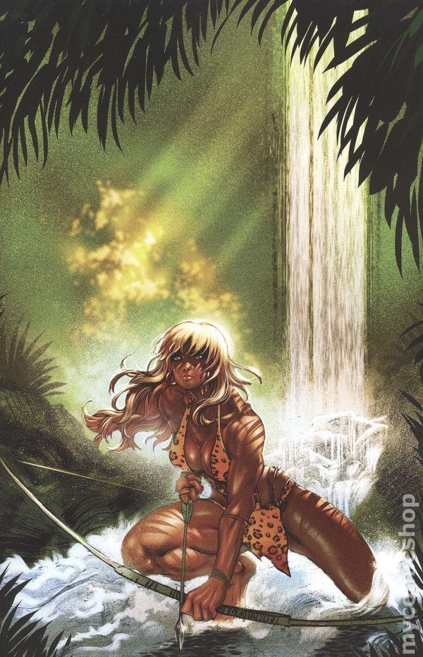 Sheena #1 1:10 Moritat Virgin Variant 2017 NM Dynamite Comics 1st Print