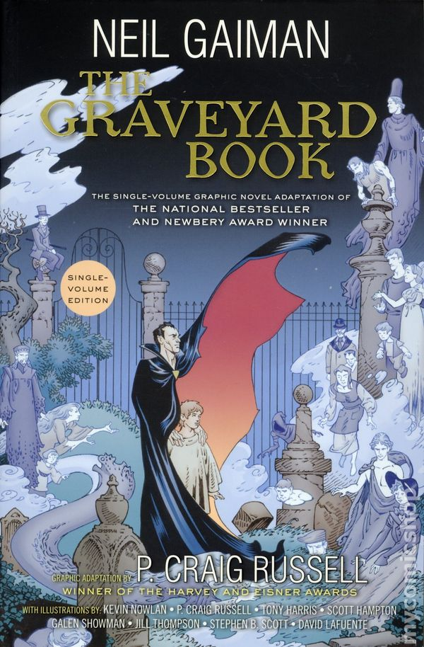 Graveyard book tpb 2017 a harpercollins graphic novel single graveyard book tpb 2017 a harpercollins graphic novel single volume edition by neil gaiman comic books ccuart Image collections