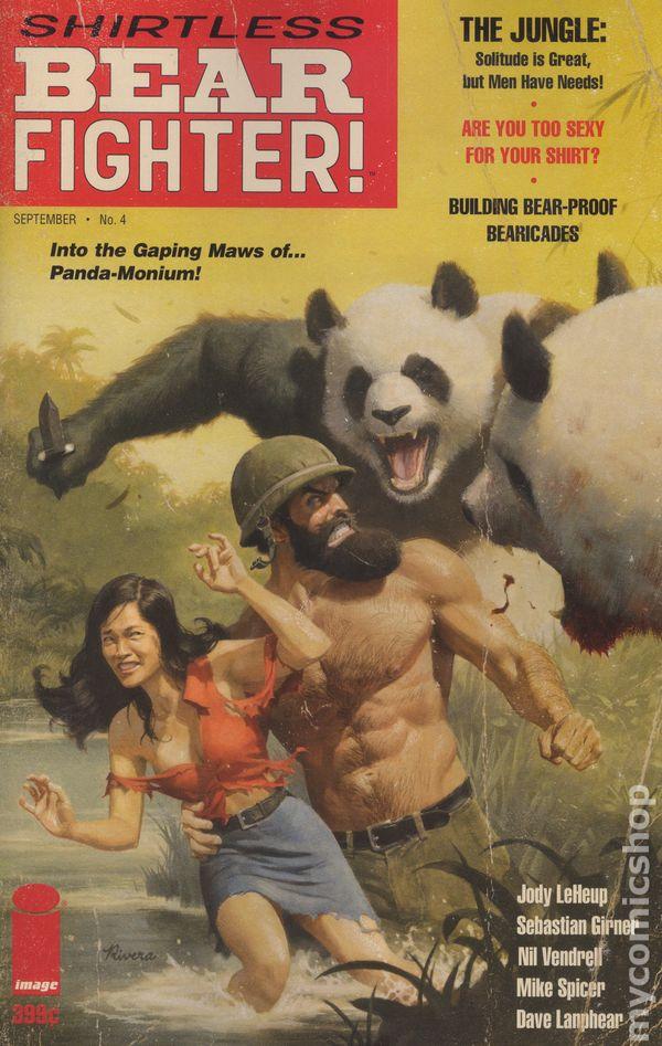 Shirtless Bear-Fighter (2017 Image) comic books