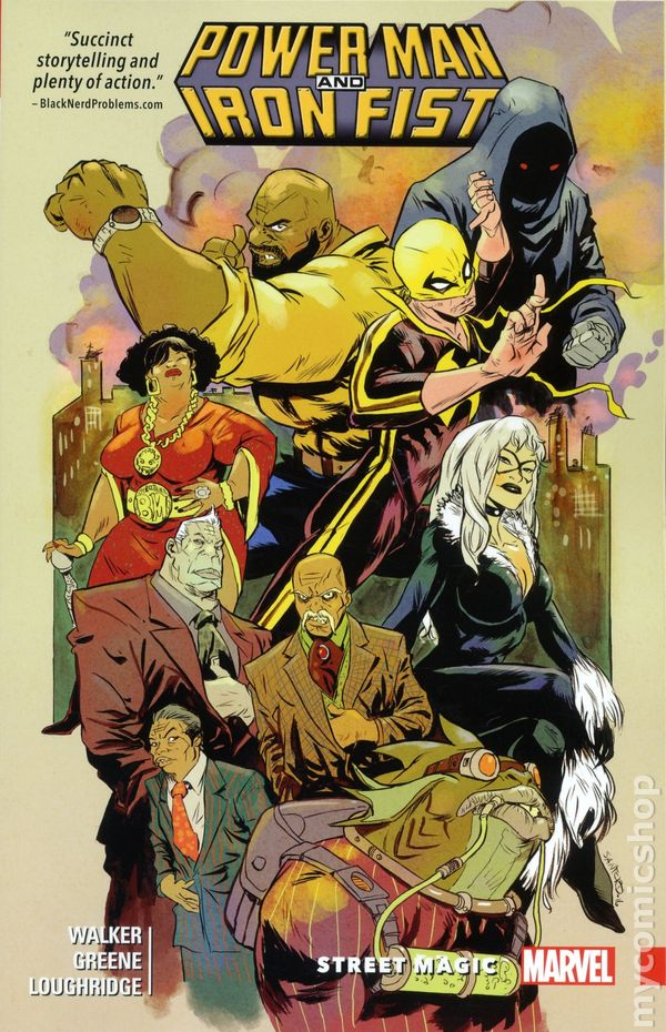 Power Man And Iron Fist TPB 2016 Marvel 3 1ST