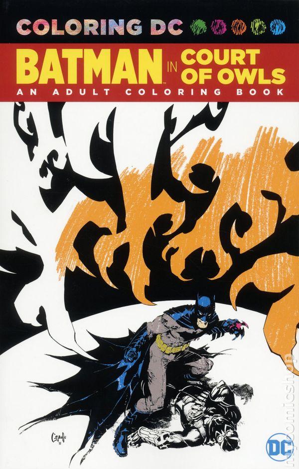 Coloring DC Batman The Court Of Owls SC 2017 An Adult