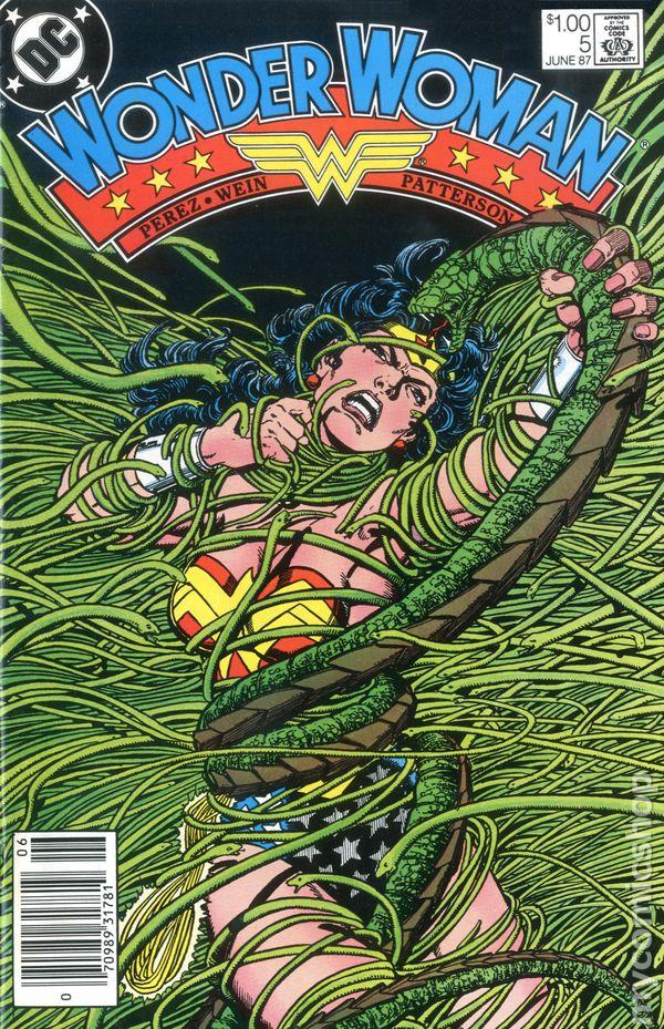 Wonder Woman #5 May 2007 DC Comics Pfeifer Diaz Borges Diaz