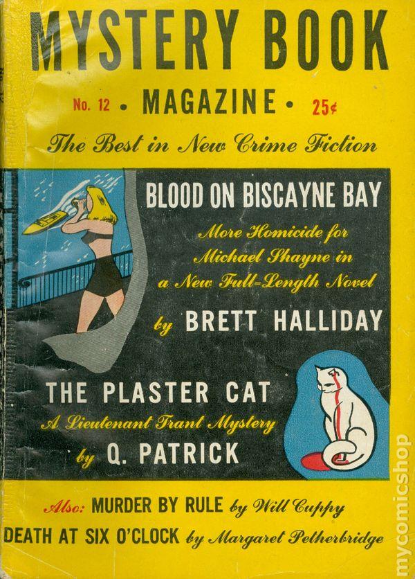 Mystery Book Magazine 1945 Pulp Vol 3 4