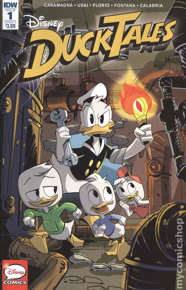 ducktales comic books issue 1